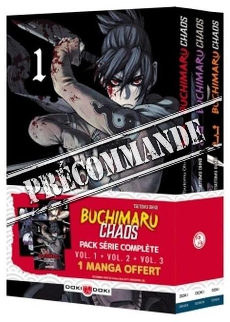 BUCHIMARU CHAOS - PACK SERIE - BUCHIMARU CHAOS - PACK VOL. 01 A 03