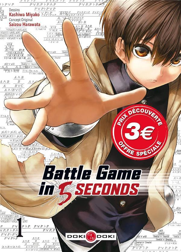 BATTLE GAME IN 5 SECONDS - T01 - BATTLE GAME IN 5 SECONDS - VOL. 01 - PRIX DECOUVERTE
