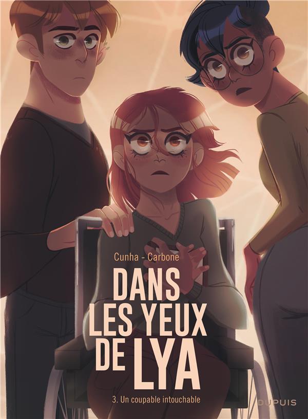 DANS LES YEUX DE LYA  TOME 3 UN COUPABLE INTOUCHABLE+ EX LIBRIS PULP'S OFFERT