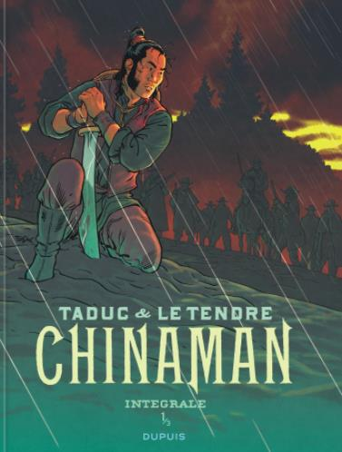 CHINAMAN - L'INTEGRALE - TOME 1 + EX LIBRIS PULP'S SIGNE PAR OLIVIER TADUC OFFERT