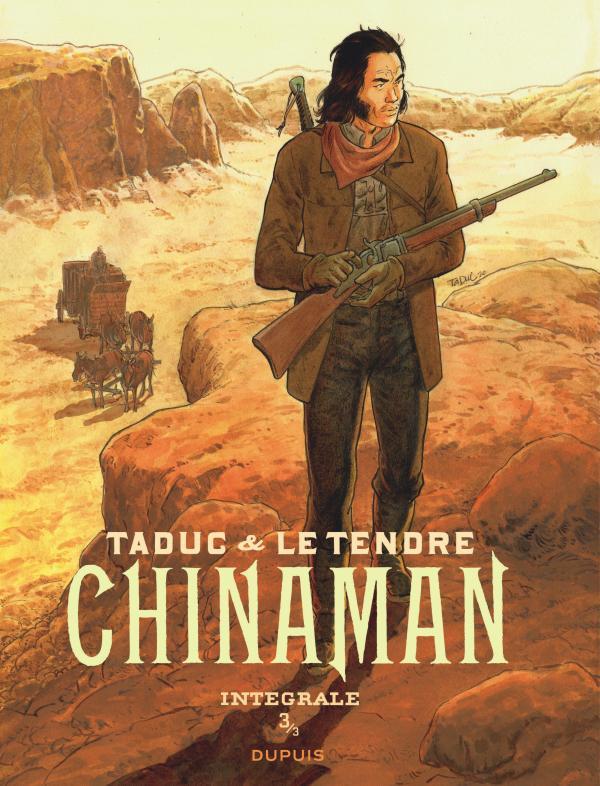 CHINAMAN - L'INTEGRALE - TOME 3 + EX LIBRIS PULP'S SIGNE PAR OLIVIER TADUC OFFERT